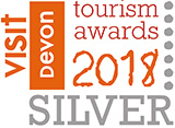 Visit Devon Tourism Awards Silver 2018