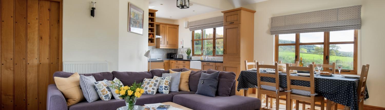 Cowbyre Open Plan Living Area